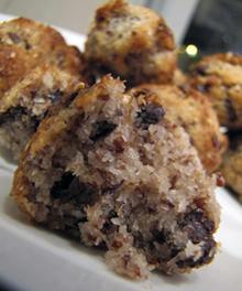 עוגיות קוקוס עם פצפוצי שוקולד