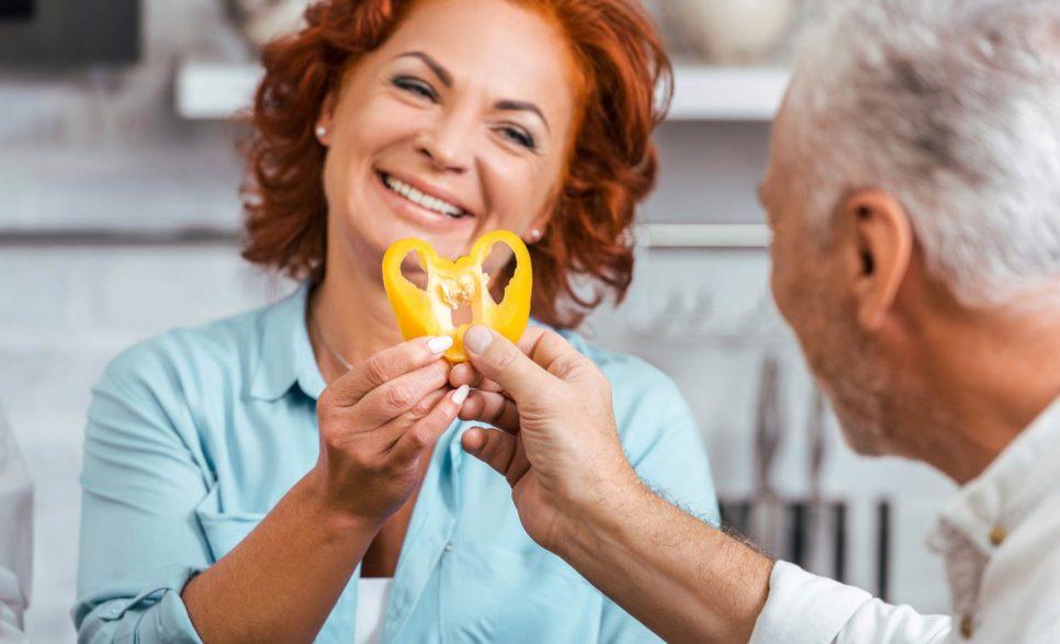 מניעת התקף לב על ידי תזונה