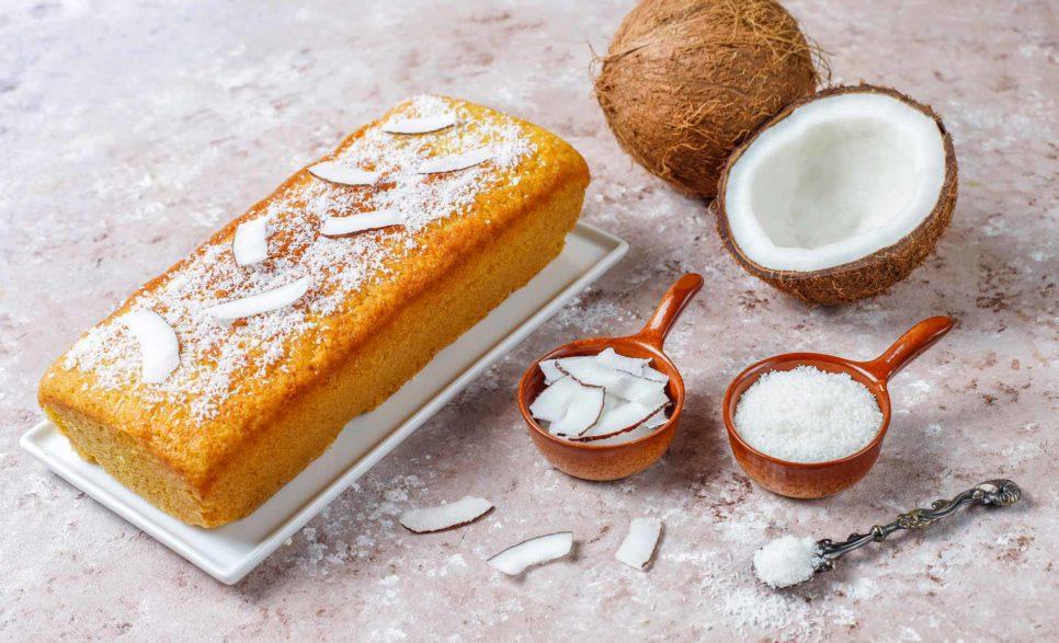 עוגת תפוזים עם נגיעות בננה
