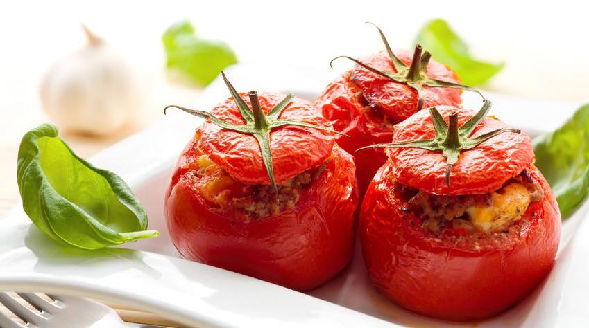 עגבניות ממולאות בטופו